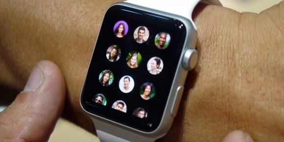 customize apple watch contacts