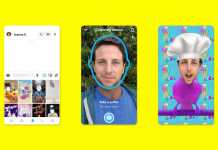 snapchat cameos launches on 18th September