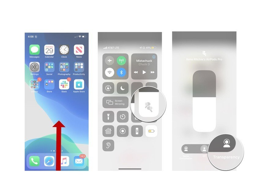 airpods transparency mode