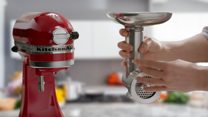 Artisan Kitchen Aid Food Grinder